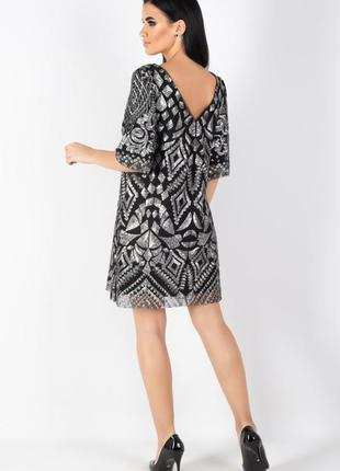 Яркое , нарядное дизайнерское платье , 42 европ. размер5
