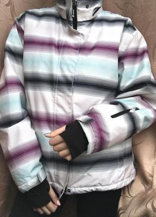 Куртка лыжная зимняя непромокаемая спортивная1