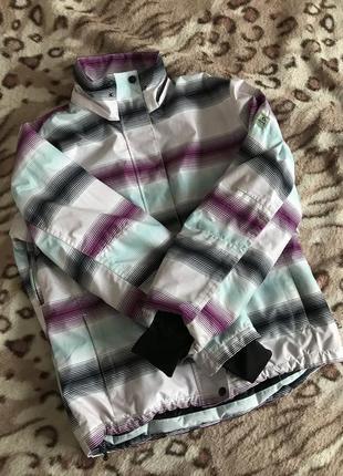 Куртка лыжная зимняя непромокаемая спортивная3