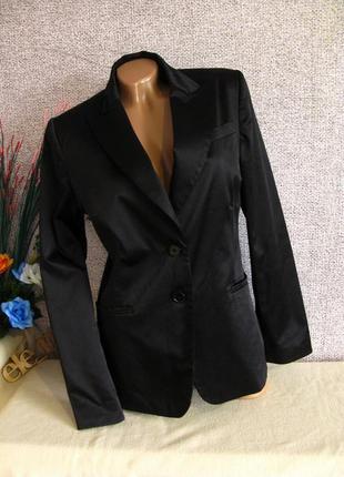 Красивый атласный пиджак h&m размер eur 421
