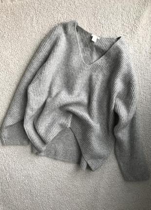 Объемный свитер в идеале оверсайз4
