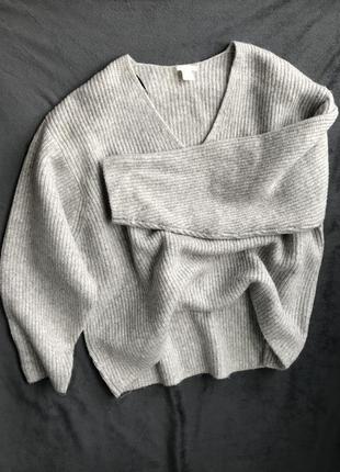 Объемный свитер в идеале оверсайз5