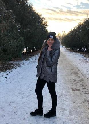 Стильные, зимние куртки на синтетическом пуху!2