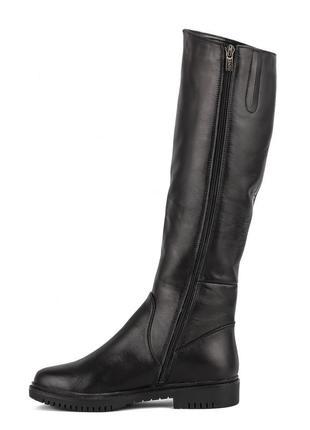 1001цп женские сапоги kento,кожаные,на толстой подошве,на каблуке,на толстом каблуке2