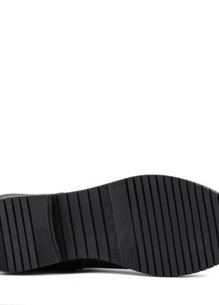 1001цп женские сапоги kento,кожаные,на толстой подошве,на каблуке,на толстом каблуке5