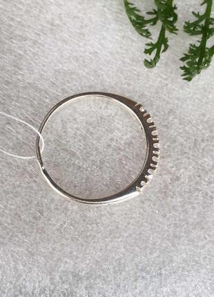 Кольцо серебряное эжени 10013