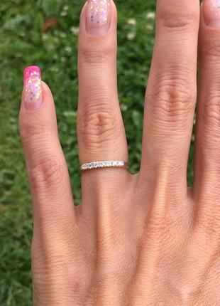 Кольцо серебряное эжени 10014