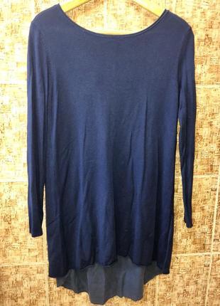 Шикарный свитер туника италия р.м,в идеале.1 фото