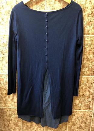 Шикарный свитер туника италия р.м,в идеале.2 фото
