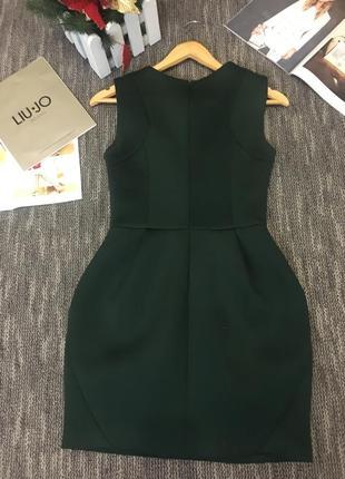 Платье изумрудное2 фото