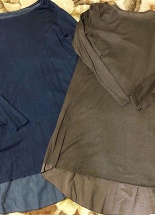Шикарный свитер туника италия р.м,в идеале.3 фото