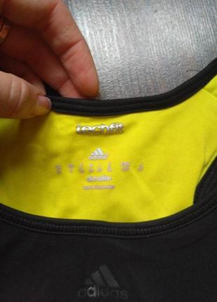 Топ adidas майка для фитнеса тренировок2 фото