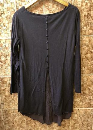 Шикарный свитер туника италия р.м,в идеале.4 фото