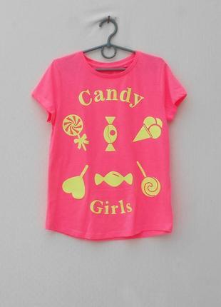 Трикотажная футболка с надписью1