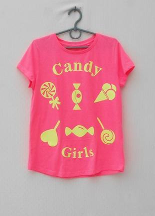 Трикотажная футболка с надписью5