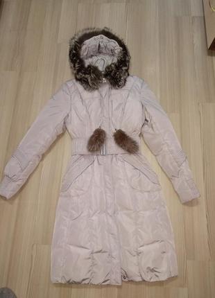 Пуховик - пальто зимнее