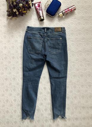 River island рванные джинсы l- размер3