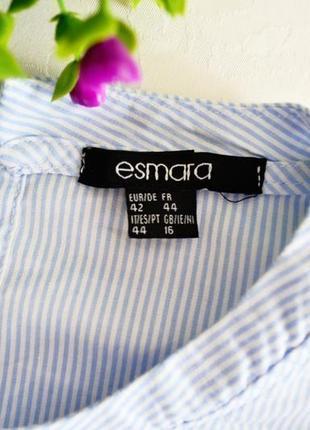 Котоновая рубашка от esmara в полоску3