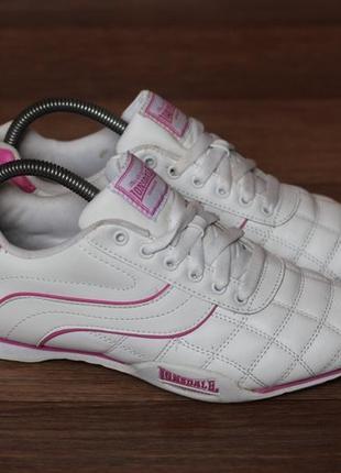 Кросівки lonsdale camden 30. оригінал. нат шкіра. стан відмінний 39р1 фото