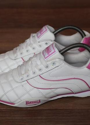 Кросівки lonsdale camden 30. оригінал. нат шкіра. стан відмінний 39р2 фото