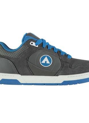 Airwalk throttle мужские скейтера тёмно-серые/голубые