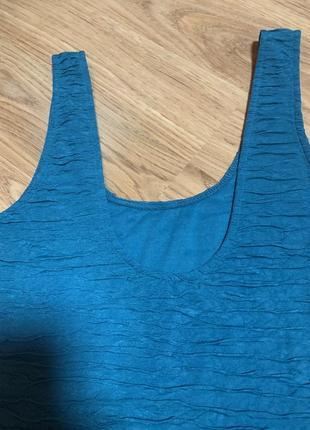 Нарядное фирменное платье цвета морской волны2