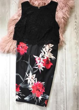 Платье с кружевом2 фото