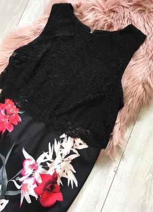 Платье с кружевом3 фото