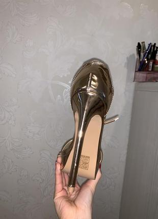 Туфли на каблуке missguided3