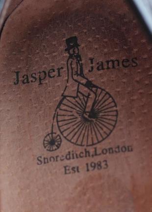 Туфлі люфери jasper james. оригінал нат шкіра. стан відмінний 38р5