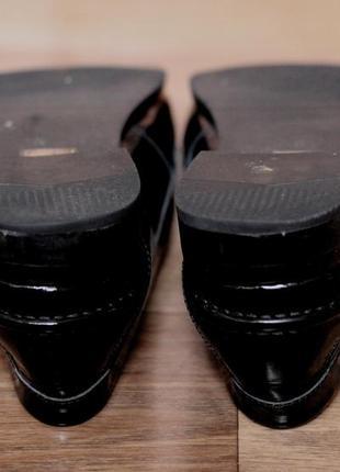 Туфлі люфери jasper james. оригінал нат шкіра. стан відмінний 38р3