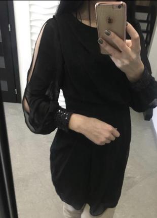 Платье,паетки1