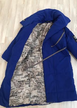 Пальто пуховик одеяло на завязках оверсайз в стиле zara3