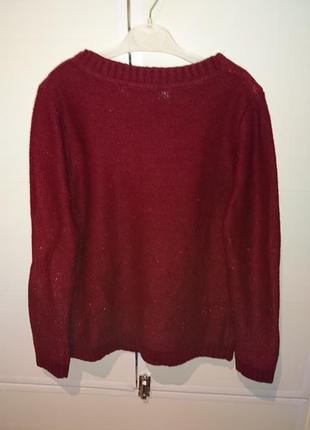 Бордовый свитерок4