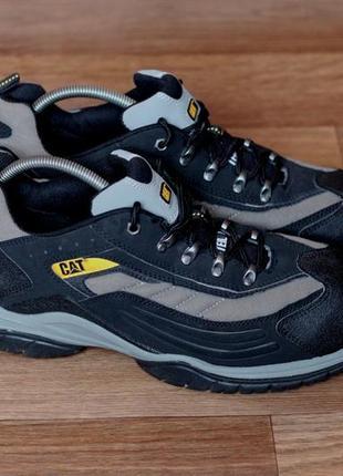 Ботинки cat caterpillar moor steel toe sb оригінал. стан відмінний 47-48р