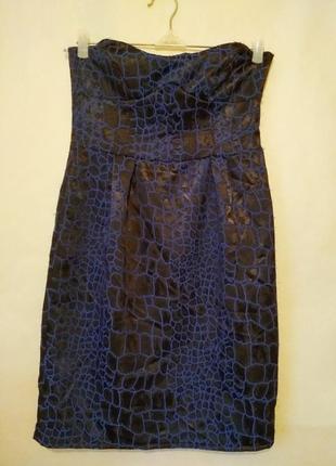 Нарядное платье бюстье 46рр1
