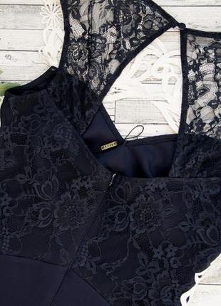 Шикарное платье с кружевом lipsy3 фото