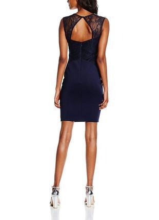 Шикарное платье с кружевом lipsy4 фото