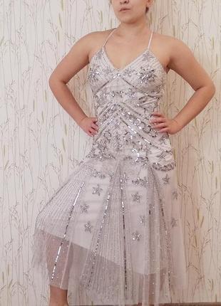 Платье вечернее/ свадебное frock and frill1