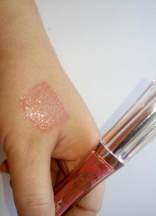 L'oreal блеск для губ glam shine 6h тон 106 клубничный коктейль5