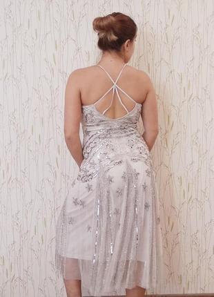 Платье вечернее/ свадебное frock and frill2