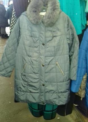 Зимнее пальто 60 размер