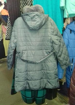 Зимнее пальто 60 размер2