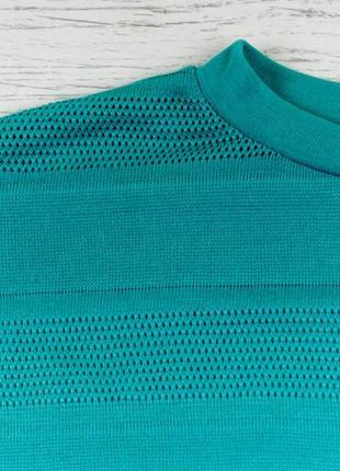 Трикотажная кофта джемпер лазурного цвета от next рр 14 наш 482