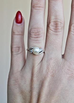 Серебряное кольцо н фрейя р.17,54 фото