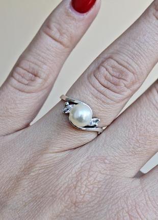 Серебряное кольцо н фрейя р.17,53 фото