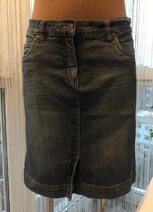 Юбка джинсовая montego1