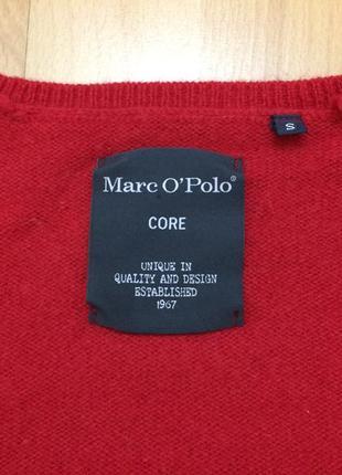 Шерстяной свитер пуловер с орнаментом marc o'polo оригинал3
