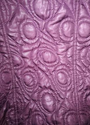 Немецкая стеганная курточка баклажанного цвета, размер 58/60.5 фото