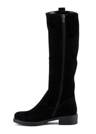 997цп женские сапоги kento,замшевые,на низком ходу,на каблуке,на толстой подошве3
